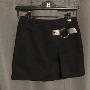 LF black skirt